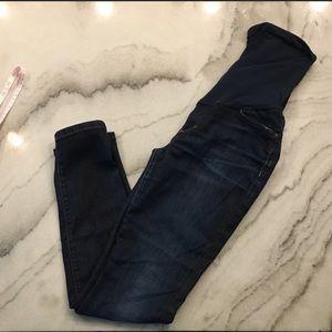 Joe's jeans, petite skinny maternity jeans sz 29